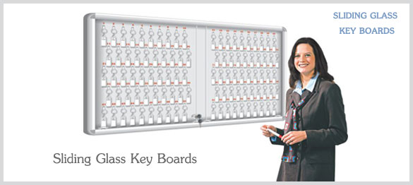 Sliding Glass Key Boards