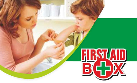 Alkosign First Aid Box